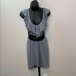 Bailey Blue Ruffle Sundress Dress